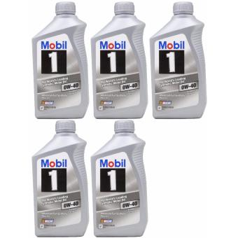 Mobil 1 0W-40 Synthetic Motor Oil - 5 Quart Price Philippines