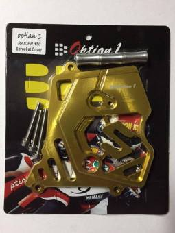 Option1 Sprocket Cover Alloy for Raider150 (GOLD) Price Philippines