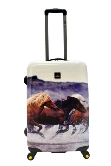 "National Geographic Nature of Love 4W 28"" Luggage (Horses) Price Philippines"
