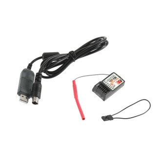 Harga OH FLY SKY 2.4G FS-CT6B 6 CH Channel Radio Model RC Transmitter Receiver Control