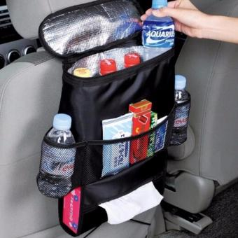 Harga QF Car Auto Seat Back Multi-Pocket Storage Cool Hot Bag Organizer