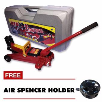 Harga NFSC - Red X Hydraulic Floor Jack With Free Air Spencer Holder