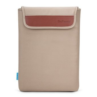 Harga POFOKO 14 Inch Waterproof Sleeve Case for Macbook Air / Pro Laptop Notebook (Khaki) (Intl)
