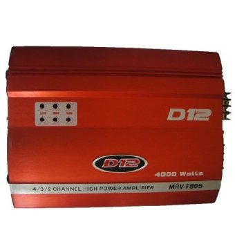 D12 MRV-F805 Amplifier (Red) Price Philippines