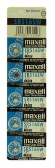 Harga Maxell SR516SW Button Cell Pack of 5