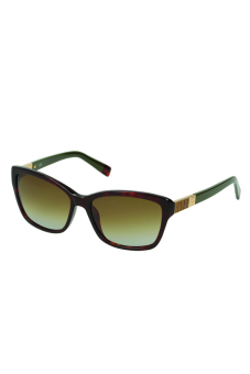 Harga Furla Jasmin SU4853 0706 Sunglasses (Brown/Olive Green)