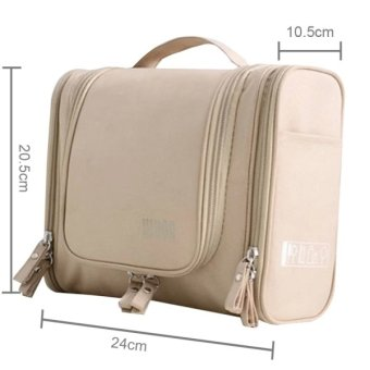 Waterproof Storage Bag / Cosmetic Bag / Make Up Organize for Travel (Khaki) Price Philippines