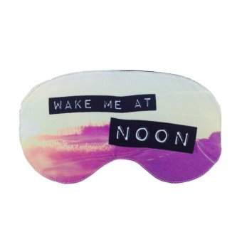 Harga Tickles Wake Me At Noon Eye Mask (Purple)