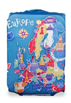 "Wanderskye ""Explore Europe"" Luggage Cover Price Philippines"