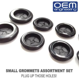 OEM Engineering Car Small Grommets Assortment Set of 12 pcs Price Philippines