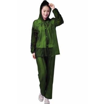 Harga Rain Drops Suite Raincoat Sea Green