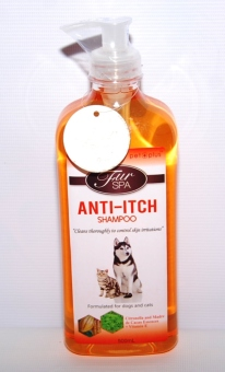 Harga PET PLUS FUR SPA anti-itch shampoo 500ml