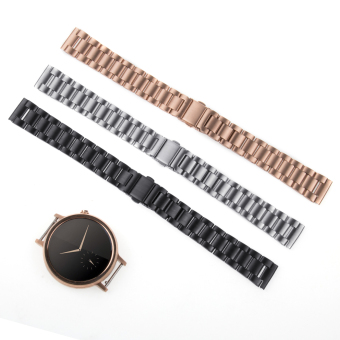 Harga Stainless Steel Watch Band Bracelet Strap for Motorola Moto 360 2nd Women's 42mm in Rose Gold