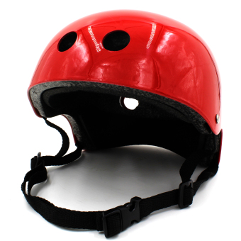 Harga Motor Craze Half Face Crash Safety Passenger Helmet (Bright Red)