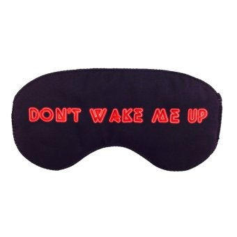 Harga Tickles Don't Wake Me Up Eye Mask (Black)