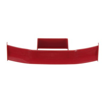 Harga Universal Mini ABS Car Tail Spoiler Wing Self Adhesive Modification Decoration Wine Red - intl