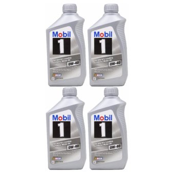 Mobil 1 0W-40 Synthetic Motor Oil - 4 Quart Price Philippines