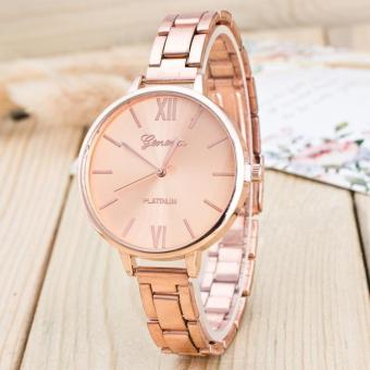 Woman Mens Retro Design Alloy Band Analog Alloy Quartz Wrist Watch - intl Price Philippines