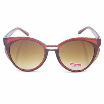 Protech Women's Sunglasses Shades Eyeglasses V-017 Italy Design (brown) Price Philippines