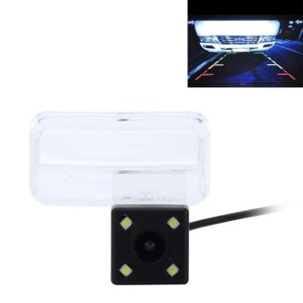 720×540 Effective Pixel PAL 50HZ / NTSC 60HZ CMOS II Waterproof Car Rear View Backup Camera With 4 LED Lamps For 2014-2016 Version Toyota Corolla And 2014-2017 Version Vios - intl Price Philippines