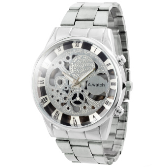 A-Watch Aaron Silver Stainless Steel Watch Price Philippines