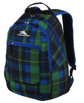 High Sierra Curve Daypack (Logger Plaid/Royal Cobalt/Black) Price Philippines