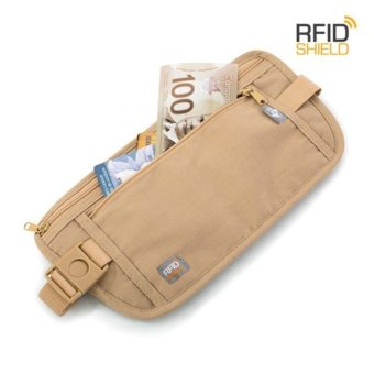 Harga Heys RFID Blocking Money Belt - Beige