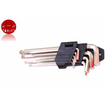 Harga MMt-0460 Allen wrench Set of 9 silver