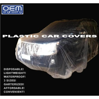 OEM Engineering DISPOSABLE PLASTIC CAR COVERS Small 1 pc Price Philippines