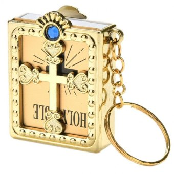 Mini Key Chain English Holy Bible - intl Price Philippines