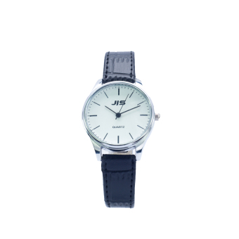 JIS 1023 Simple Petite Leather Watch (Silver) Price Philippines
