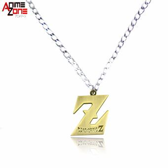 Anime Dragon Ball Z Fashionable Pendant Necklace (Silver/ Gold) Price Philippines
