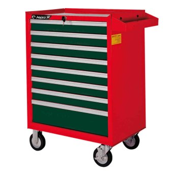 Hans Tools 9918HQ 8 Drawer Tool Trolley (Green/Red) Price Philippines
