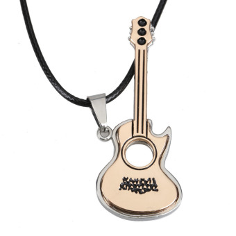 Lovely Guitar Pendant Necklace Jewelry Unisex Price Philippines