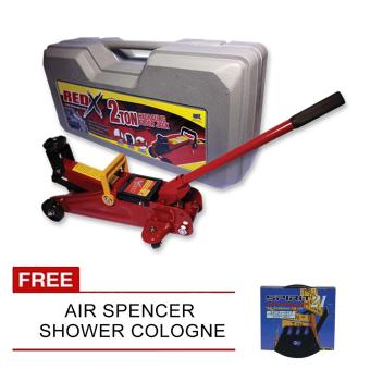 Harga NFSC - Red X Hydraulic Floor Jack With Free Air Spencer Shower Cologne