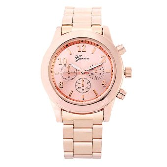 OEM Casual Men's Rose Gold Stainless Steel Strap Watch 8461 Price Philippines