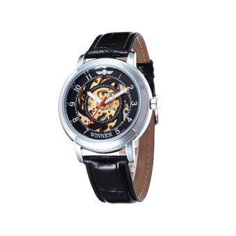 Fully automatic mechanical watches popular fashion sports watches black Price Philippines