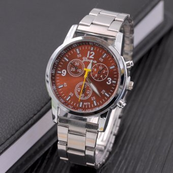 Fashion Men's Watches. Automatic Mechanical Watches. Six-pin, Steel Watch Band - intl Price Philippines