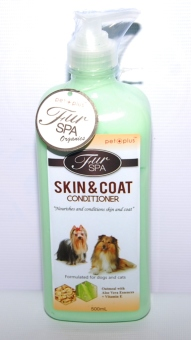 Harga PET PLUS FUR SPA skin & coat conditioner 500ml