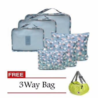 Harga Bags in Bag 6 in 1 (Green) with Free 3 Way Bag (Color May Vary)