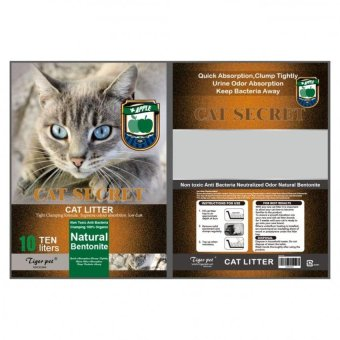 Harga Cat secret Cat Litter 10 Liter (apple) - intl