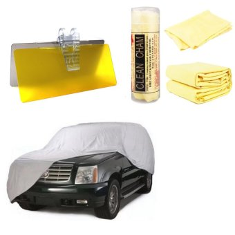 Car Cover for SUV whit Absorber Microfiber Synthetic Chamois Clean Towel and HD Vision Day And Night Visor Price Philippines