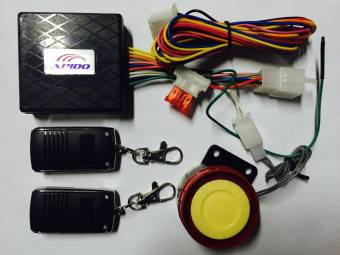 Apido Motorcycle Anti-theft Security Alarm System Remote Control Price Philippines