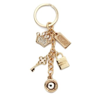 Harga Coach Royal Key Ring (Gold)