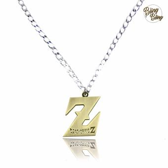 Bling Bling Dragon Ball Z Fashionable Pendant Necklace (Silver/ Gold) Price Philippines