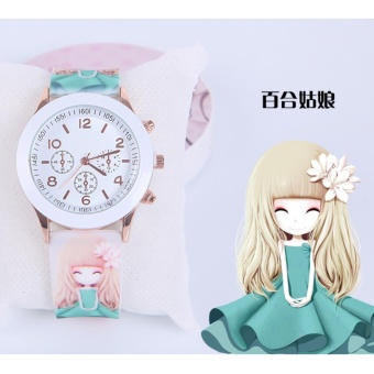 Harga 2Cool Gifts Watch Lovely Small Princess Gifts Watch for Children - intl