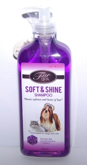 Harga PET PLUS FUR SPA soft & shine shampoo 500ml