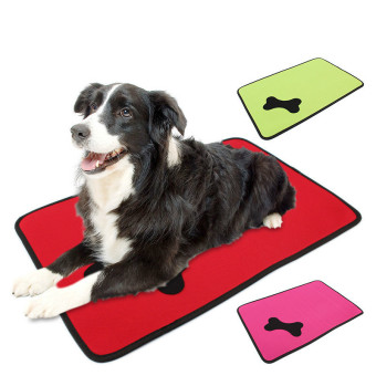 Small Comfy Pet Bed Summer Cushion Dog Cooling Pad Mat House Bed Accessories (Green) Price Philippines