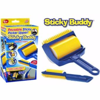 Harga Set of 2 Sticky Buddy Hair Lint Dust Remover