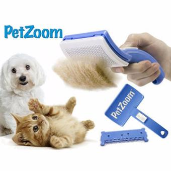 Pet Zoom Self Cleaning Grooming Brush Price Philippines